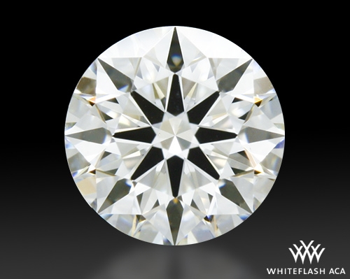 0.56 ct J VS1 A CUT ABOVE® Hearts and Arrows Super Ideal Round Cut Loose Diamond