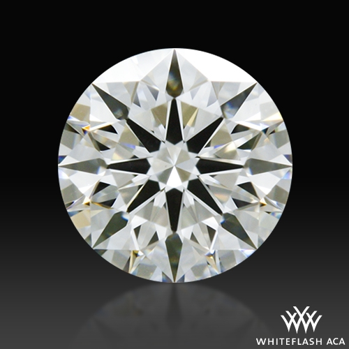 0.52 ct I VS1 A CUT ABOVE® Hearts and Arrows Super Ideal Round Cut Loose Diamond