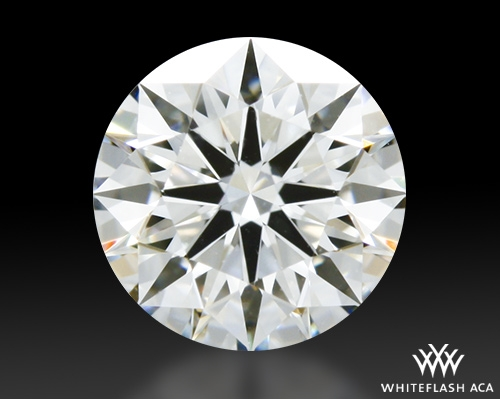 0.528 ct H VS1 A CUT ABOVE® Hearts and Arrows Super Ideal Round Cut Loose Diamond
