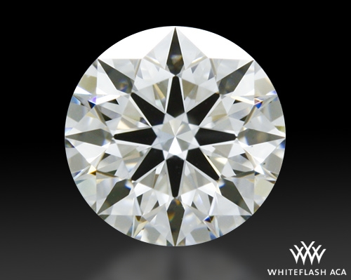 0.53 ct H VS2 A CUT ABOVE® Hearts and Arrows Super Ideal Round Cut Loose Diamond