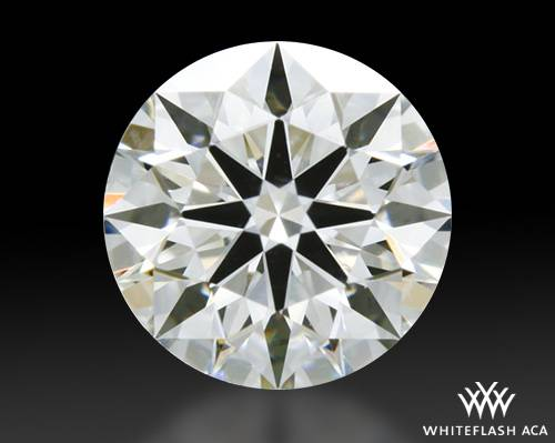 0.538 ct I VS2 A CUT ABOVE® Hearts and Arrows Super Ideal Round Cut Loose Diamond