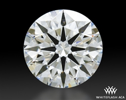 0.554 ct H VS2 A CUT ABOVE® Hearts and Arrows Super Ideal Round Cut Loose Diamond