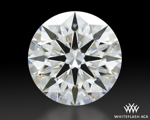 0.568 ct G VS2 A CUT ABOVE® Hearts and Arrows Super Ideal Round Cut Loose Diamond