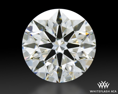0.573 ct H VS2 A CUT ABOVE® Hearts and Arrows Super Ideal Round Cut Loose Diamond