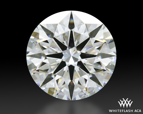 0.735 ct H SI1 A CUT ABOVE® Hearts and Arrows Super Ideal Round Cut Loose Diamond