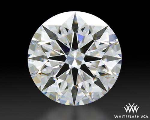0.72 ct F VS1 A CUT ABOVE® Hearts and Arrows Super Ideal Round Cut Loose Diamond