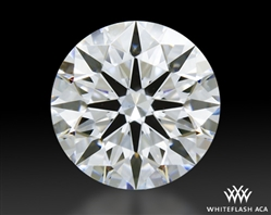 0.71 ct E VS1 A CUT ABOVE® Hearts and Arrows Super Ideal Round Cut Loose Diamond