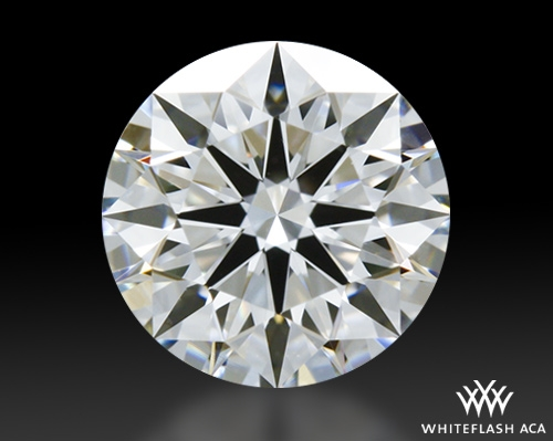 0.705 ct F VS2 A CUT ABOVE® Hearts and Arrows Super Ideal Round Cut Loose Diamond
