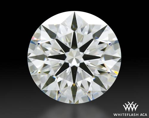 0.752 ct G VS2 A CUT ABOVE® Hearts and Arrows Super Ideal Round Cut Loose Diamond
