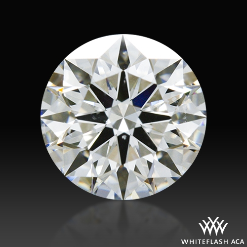 0.716 ct G SI1 A CUT ABOVE® Hearts and Arrows Super Ideal Round Cut Loose Diamond