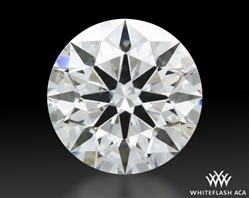 0.503 ct G SI1 A CUT ABOVE® Hearts and Arrows Super Ideal Round Cut Loose Diamond