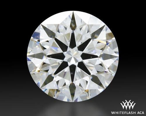 0.50 ct E SI1 A CUT ABOVE® Hearts and Arrows Super Ideal Round Cut Loose Diamond