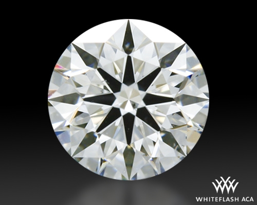 0.51 ct H SI1 A CUT ABOVE® Hearts and Arrows Super Ideal Round Cut Loose Diamond