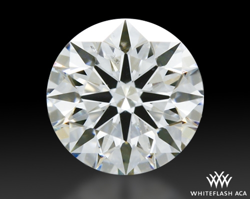 0.516 ct G SI1 A CUT ABOVE® Hearts and Arrows Super Ideal Round Cut Loose Diamond