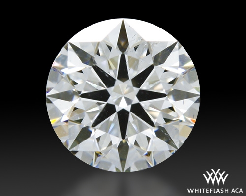 0.525 ct G SI2 A CUT ABOVE® Hearts and Arrows Super Ideal Round Cut Loose Diamond