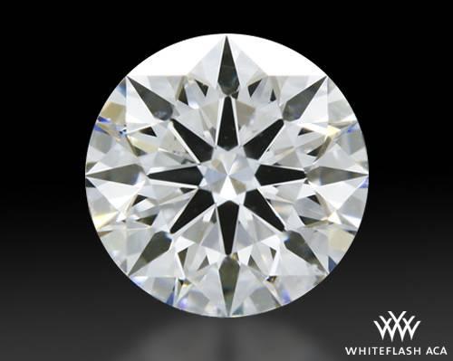0.524 ct E SI1 A CUT ABOVE® Hearts and Arrows Super Ideal Round Cut Loose Diamond