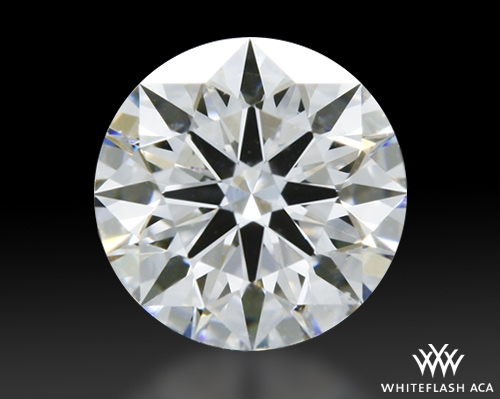 0.524 ct E SI1 A CUT ABOVE® Hearts and Arrows Super Ideal Round Cut Loose Diamond