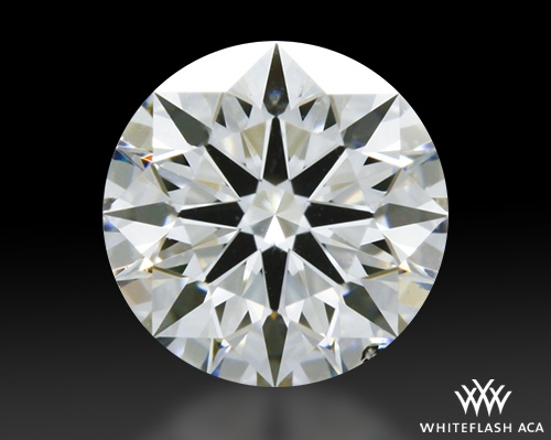 0.538 ct G SI1 A CUT ABOVE® Hearts and Arrows Super Ideal Round Cut Loose Diamond
