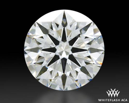 0.562 ct G SI1 A CUT ABOVE® Hearts and Arrows Super Ideal Round Cut Loose Diamond