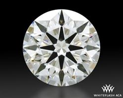 0.42 ct I SI1 A CUT ABOVE® Hearts and Arrows Super Ideal Round Cut Loose Diamond