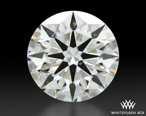 0.433 ct H VS2 A CUT ABOVE® Hearts and Arrows Super Ideal Round Cut Loose Diamond