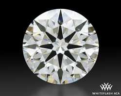0.431 ct H VS1 A CUT ABOVE® Hearts and Arrows Super Ideal Round Cut Loose Diamond