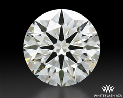 0.435 ct I VS2 A CUT ABOVE® Hearts and Arrows Super Ideal Round Cut Loose Diamond