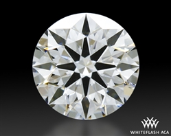 0.433 ct F VS2 A CUT ABOVE® Hearts and Arrows Super Ideal Round Cut Loose Diamond