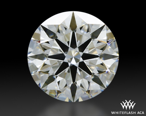 0.432 ct G SI1 A CUT ABOVE® Hearts and Arrows Super Ideal Round Cut Loose Diamond