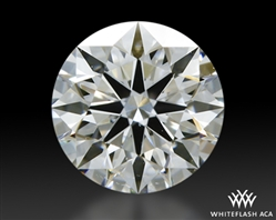 0.441 ct G VS2 A CUT ABOVE® Hearts and Arrows Super Ideal Round Cut Loose Diamond