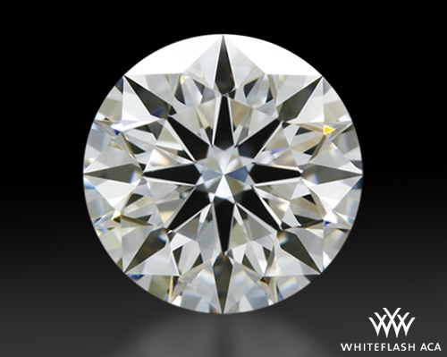 0.452 ct H SI1 A CUT ABOVE® Hearts and Arrows Super Ideal Round Cut Loose Diamond