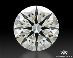 0.343 ct H VS2 A CUT ABOVE® Hearts and Arrows Super Ideal Round Cut Loose Diamond