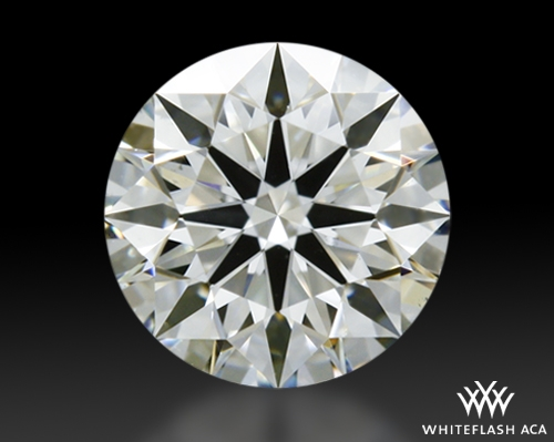 0.391 ct H VS2 A CUT ABOVE® Hearts and Arrows Super Ideal Round Cut Loose Diamond