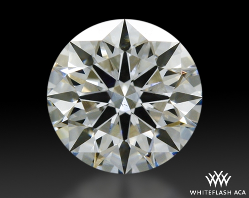 0.307 ct H SI1 A CUT ABOVE® Hearts and Arrows Super Ideal Round Cut Loose Diamond