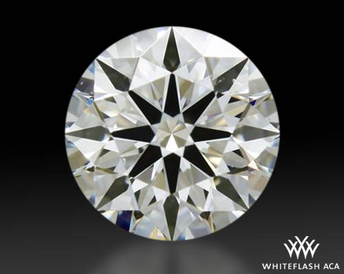 0.307 ct H VS2 A CUT ABOVE® Hearts and Arrows Super Ideal Round Cut Loose Diamond