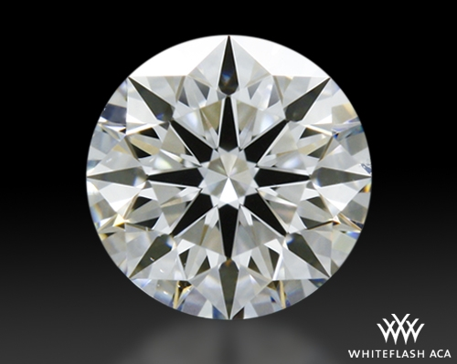 0.322 ct G SI1 A CUT ABOVE® Hearts and Arrows Super Ideal Round Cut Loose Diamond