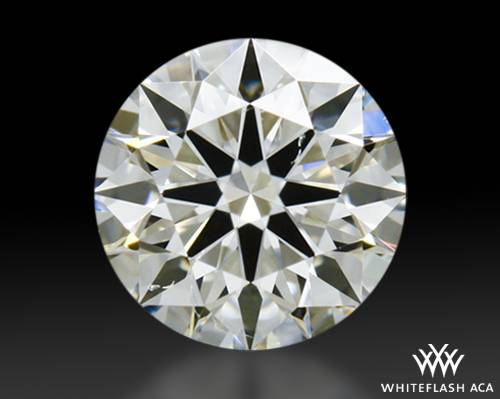 0.337 ct I SI2 A CUT ABOVE® Hearts and Arrows Super Ideal Round Cut Loose Diamond