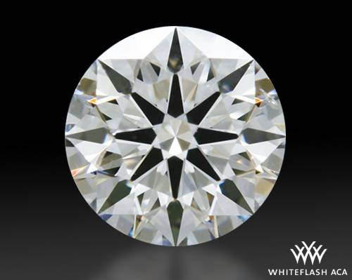 0.353 ct G SI1 A CUT ABOVE® Hearts and Arrows Super Ideal Round Cut Loose Diamond