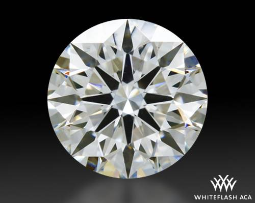 0.351 ct H VS2 A CUT ABOVE® Hearts and Arrows Super Ideal Round Cut Loose Diamond