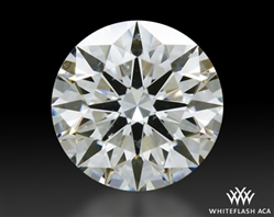 0.382 ct I SI1 A CUT ABOVE® Hearts and Arrows Super Ideal Round Cut Loose Diamond