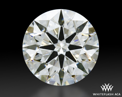 0.378 ct H SI1 A CUT ABOVE® Hearts and Arrows Super Ideal Round Cut Loose Diamond