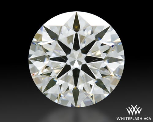 0.631 ct H SI1 A CUT ABOVE® Hearts and Arrows Super Ideal Round Cut Loose Diamond