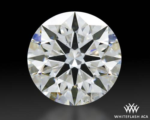 0.628 ct H SI2 A CUT ABOVE® Hearts and Arrows Super Ideal Round Cut Loose Diamond