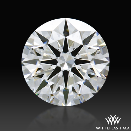 0.634 ct G VS2 A CUT ABOVE® Hearts and Arrows Super Ideal Round Cut Loose Diamond