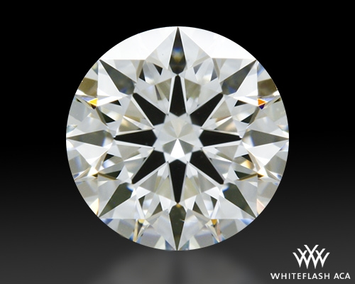 0.64 ct H VS1 A CUT ABOVE® Hearts and Arrows Super Ideal Round Cut Loose Diamond