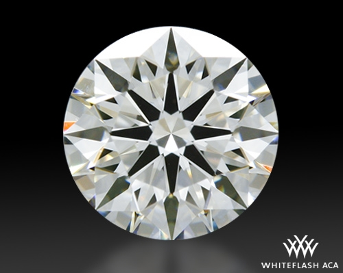 0.64 ct H VVS2 A CUT ABOVE® Hearts and Arrows Super Ideal Round Cut Loose Diamond