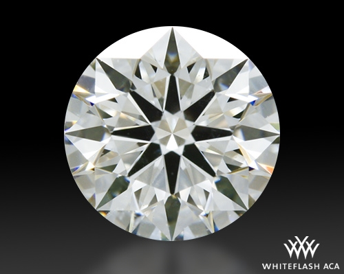 0.645 ct H SI1 A CUT ABOVE® Hearts and Arrows Super Ideal Round Cut Loose Diamond