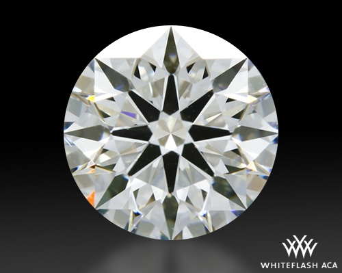 0.646 ct H VS2 A CUT ABOVE® Hearts and Arrows Super Ideal Round Cut Loose Diamond
