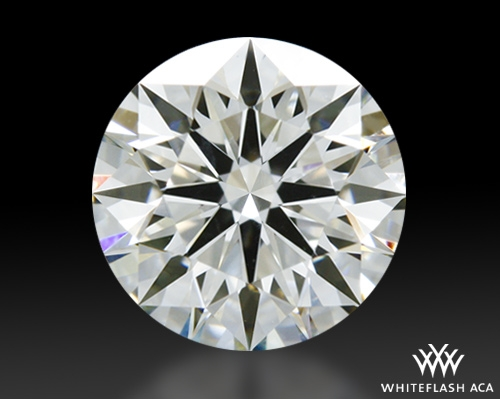 0.655 ct I VS1 A CUT ABOVE® Hearts and Arrows Super Ideal Round Cut Loose Diamond
