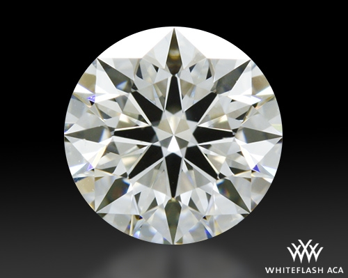 0.648 ct I VS2 A CUT ABOVE® Hearts and Arrows Super Ideal Round Cut Loose Diamond